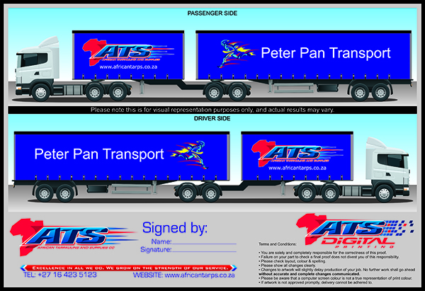 Peter Pan and ATS MockUp