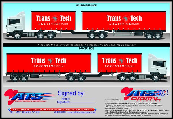Trans tech 6550mm x 2860mm en 12625mm x 2860mm